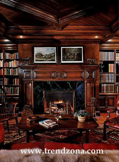 Classic-Interior-Design-Michael-Jacksons-Library