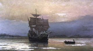 plymouth-mayflower-in-harbor-halsall
