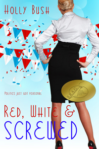 RED-WHITE-SCREWED